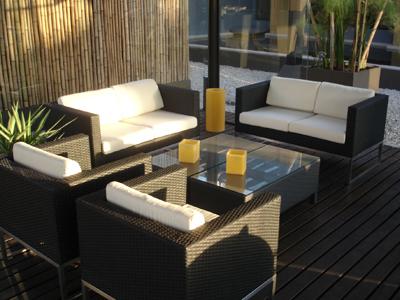 Consejos para elegir los muebles del jard n y la terraza for Muebles de rattan para exterior